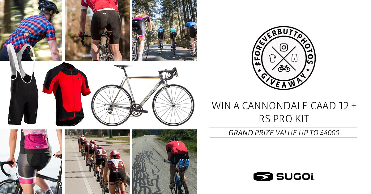 Win a CAAD12 & RS Pro kit this summer. Enter the #foreverbuttphotos giveaway > https://t.co/UanVH27Y0i #cycling https://t.co/8z0gcNGMBO