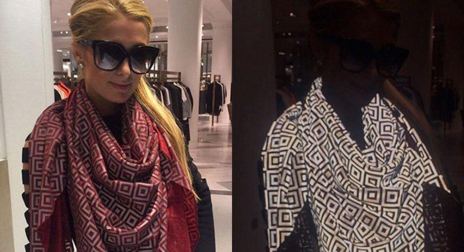 Paris Hilton con Ishu, mantello invisibile alle foto dei paparazzi