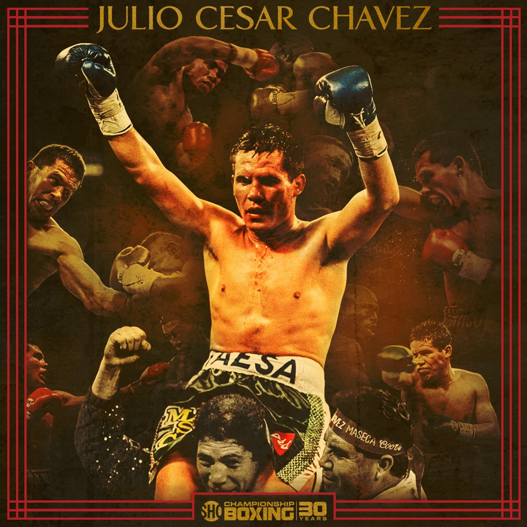 08e58523b4bb3e we re honoring legendary mexican warrior jcchavez115 all month amp kicking  off with chavez camacho at