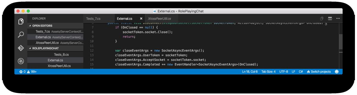 VSCode 1.3、 タブきだあぁあぁぁぁあっっっぁあああ https://t.co/g6T2evkt5T