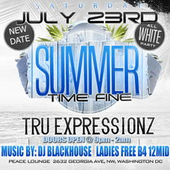 Tomorrow Night ❗️TE Live @ Peace Lounge. 21+ , Ladies FREE b4 12mid ALL WHITE PARTY 9-2am https://t.co/Thwi9nPQw5 #SummerTimeFine