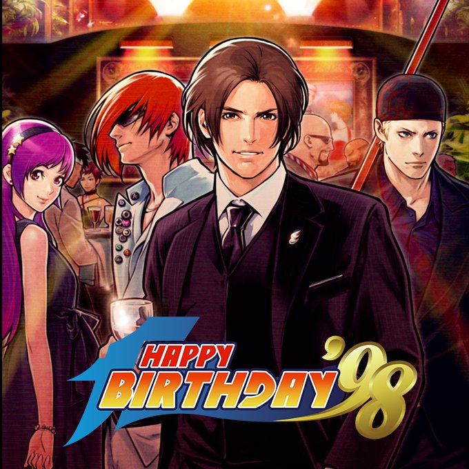 One of the greatest fighting games is 18 today. Happy Birthday The King of Fighters '98! https://t.co/IIrvTpTOax