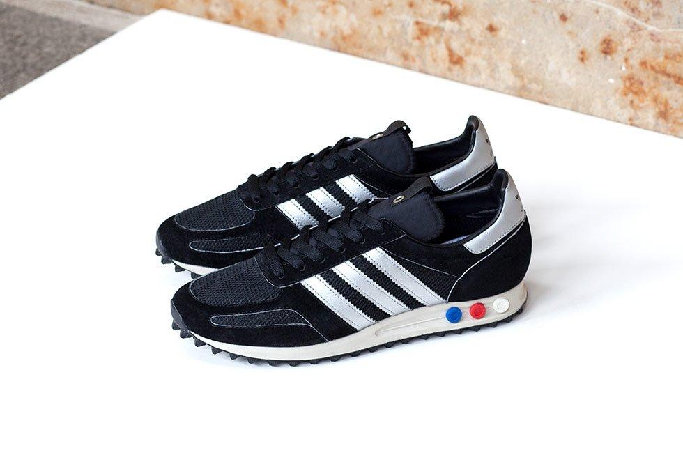 Men Adidas Consortium Men La Trainer Og Mig (Black