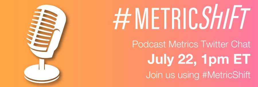 Thumbnail for #MetricShift Chat: Measuring the Impact of Podcasts