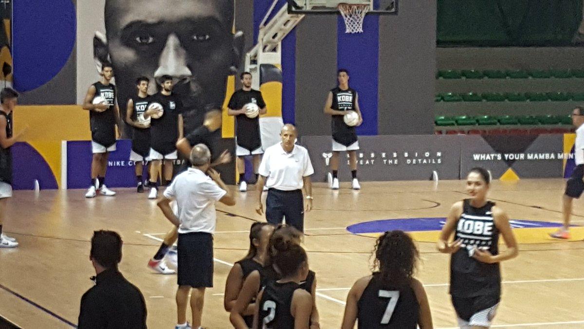 Coach Messina ✅ #KobeBryant #BlackMamba #kobeday #kobeacademy