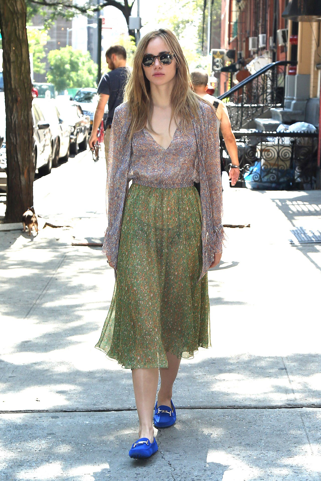 See how the stars are dressing for a summer in New York: https://t.co/3i8Dm01Mof https://t.co/ngNUmGWRCG