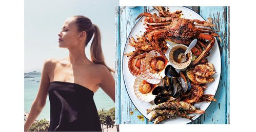 Natasha, Karlie, Kendall + Anja... We find out what top models are eating this summer.  https://t.co/R1KliAIPTb https://t.co/lmSmz5PjyX