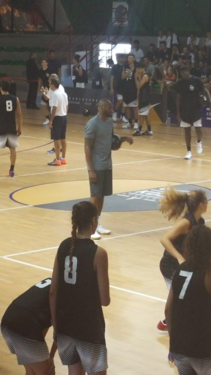 Kobe is here #KobeBryant #BlackMamba #kobeday #kobeacademy