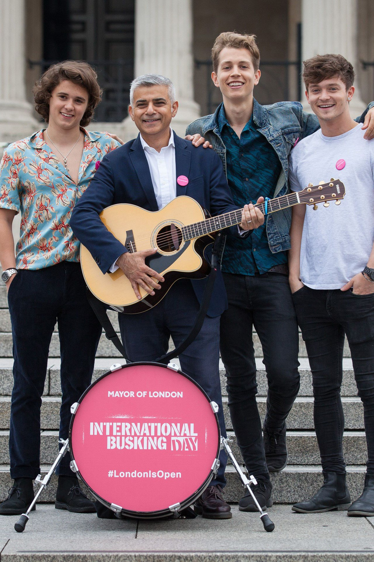When @SadiqKhan and @TheVampsband took to the stage:  https://t.co/xwYGPL7K1m https://t.co/0tFfo1QSGc