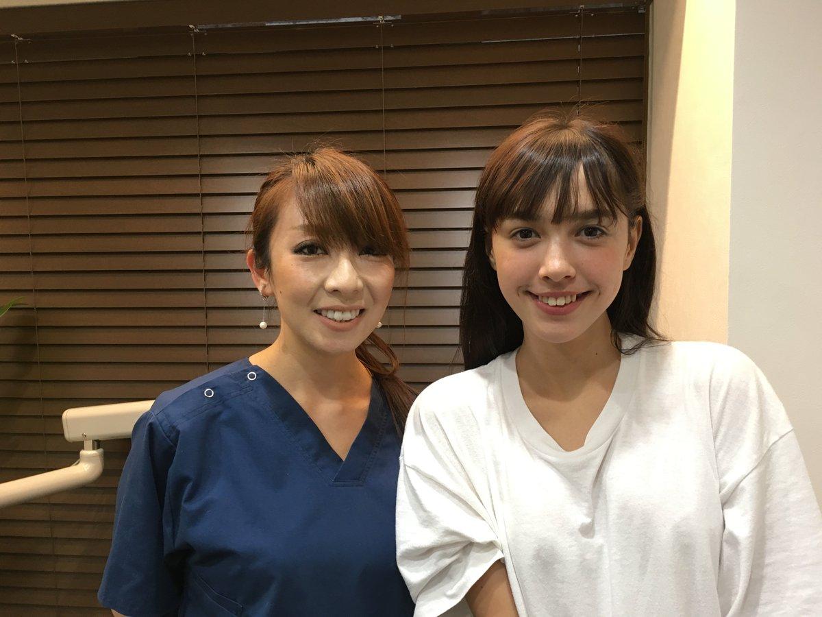 """Hanoshiori-矯正歯科 on Twitter: """"女優・モデルの モーガン 茉愛羅 ..."""