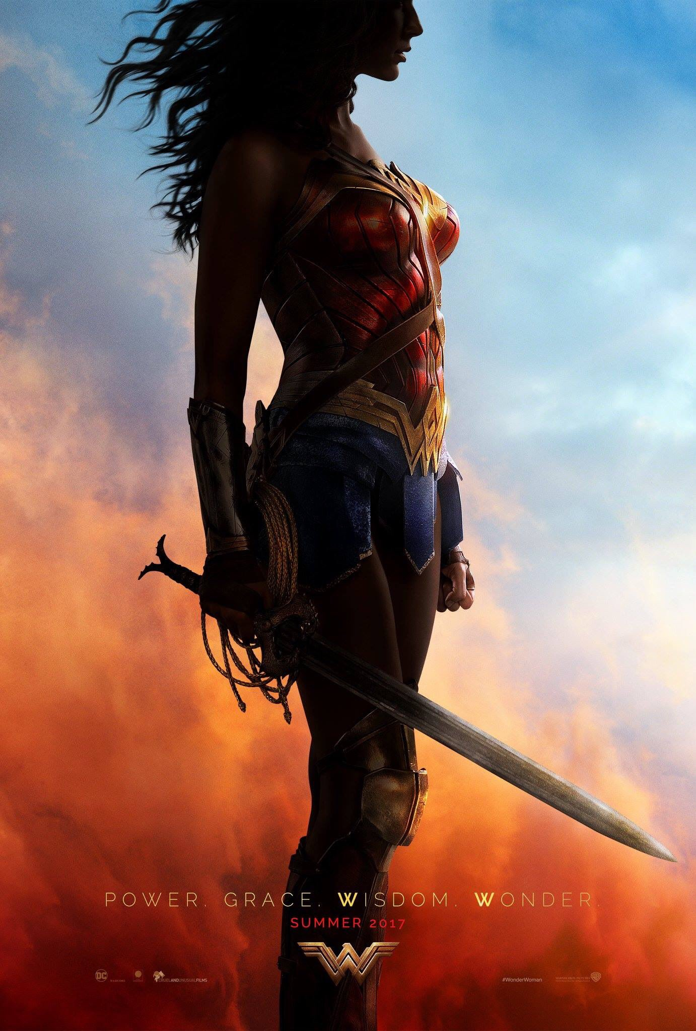 Comic-Con 2016: First Wonder Woman Film Poster Released