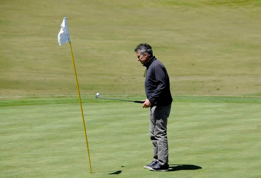 yue xu golf channel