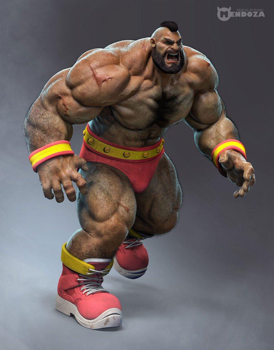 Shoryuken Com On Twitter Street Fighter Zangief Fan Art By Marco
