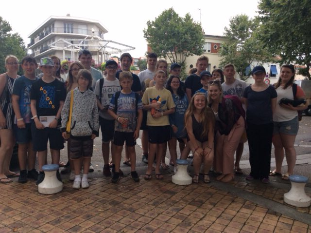 France Trip - Visiting Arcachon today buying ice cream and gifts.