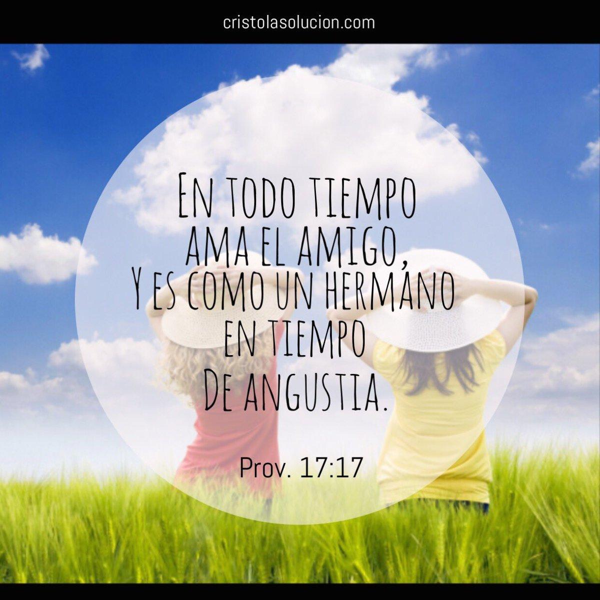 """Versiculos Biblicos De Promesas De Dios: Cristo La Solución On Twitter: """"En Todo Tiempo Ama El"""