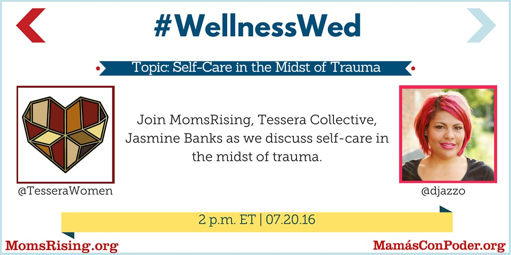 Thumbnail for #WellnessWed: Self-care in the midst of trauma