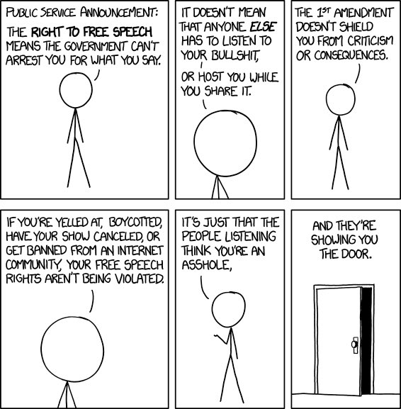 Public Service Announcement #FreeSpeech   https://t.co/weMADrrDVL https://t.co/3xgnYL5ISx