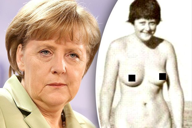 Angela merkel nacktfoto