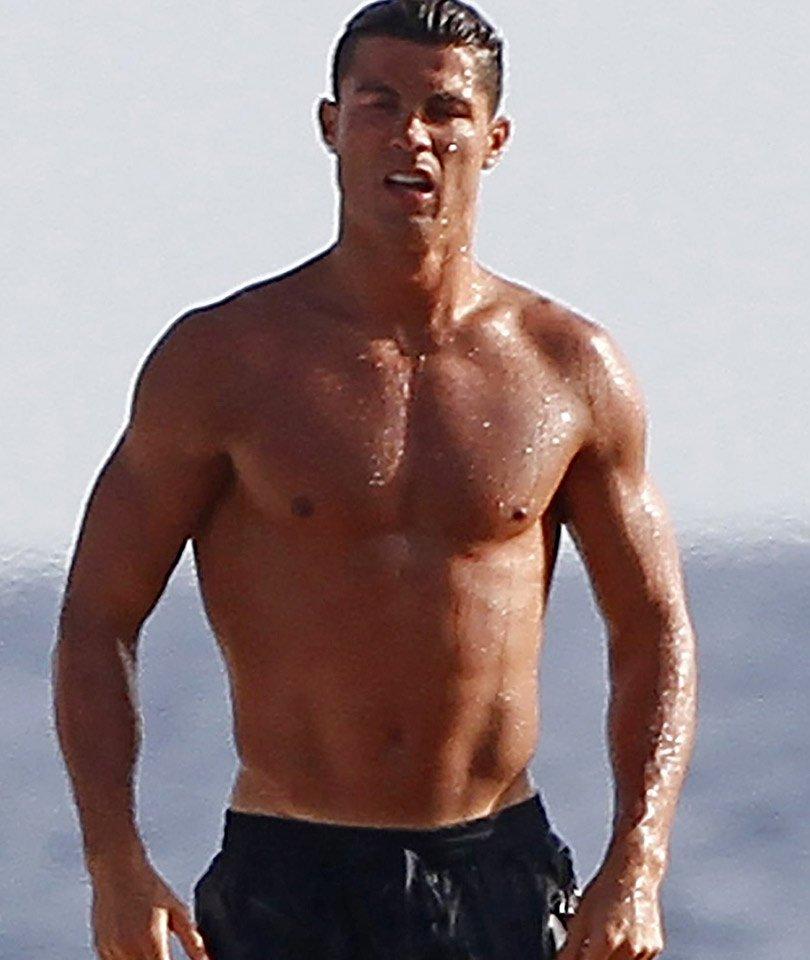 Cristiano Ronaldo Oberkörper