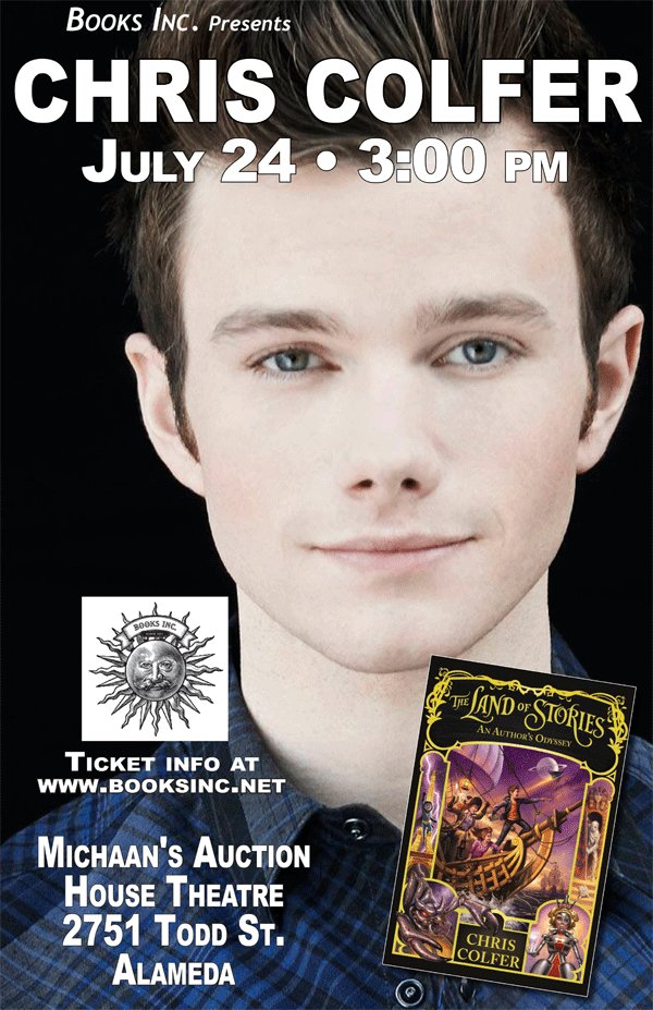 And tickets are still available!! https://t.co/WdfZG9b4vF #bookhuggers @chriscolfer https://t.co/kj5rrjrmTR