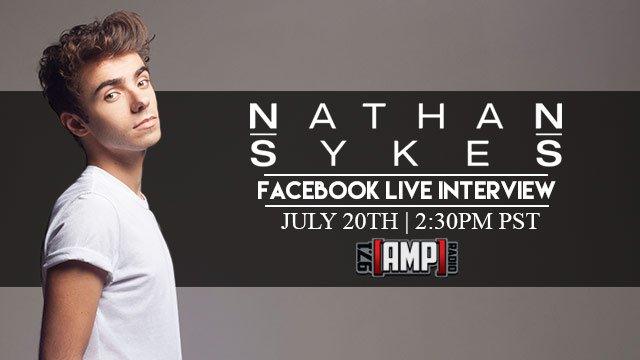RT @971AMPRadio: .@nathansykes joins us LIVE on Facebook with @ChrisBooker today at 2:30pm. Tweet us your ?'s! #NathanOnAMP https://t.co/zV…