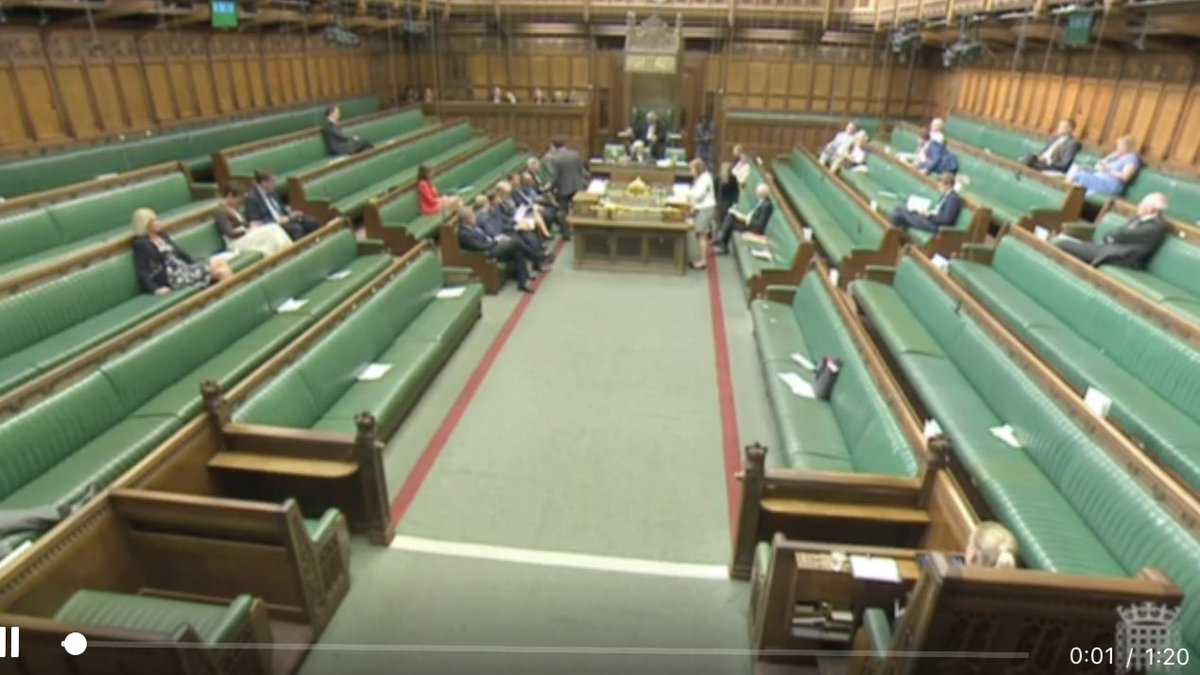 Nice to see MPs attending debate about the cost of tuition fees at university (which most them got for free) https://t.co/Z7nWIfzD8V