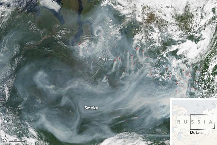 Fires in Northwestern Siberia : Natural Hazards