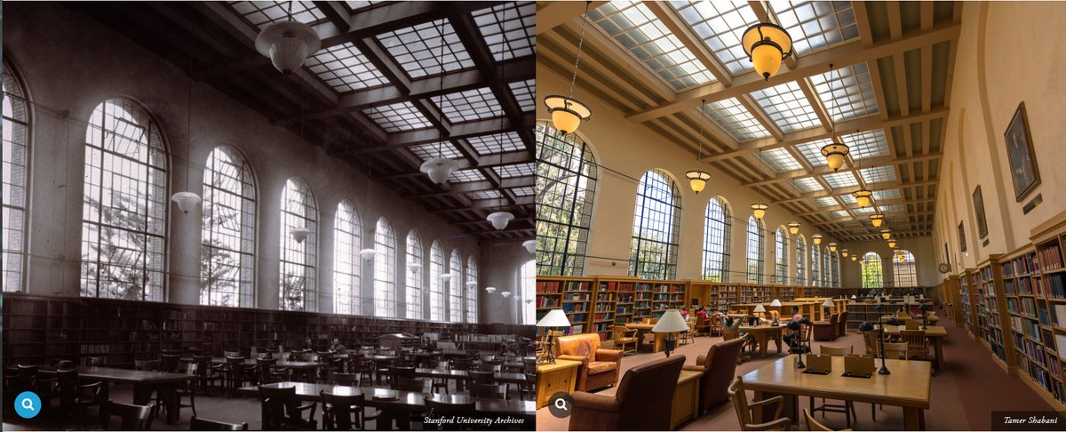 """Stanford Libraries on Twitter: """"#TBT The Field Room, later ..."""