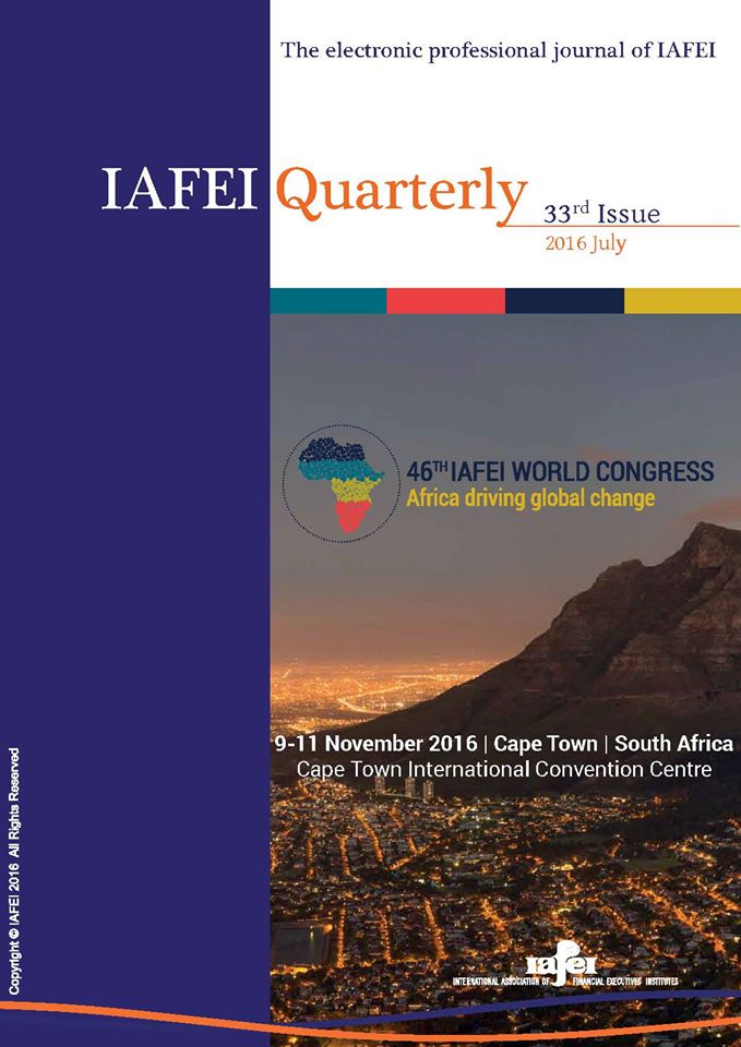 @IAFEI_cfo Quarterly 33rd Issue, July 2016 is available on https://t.co/IOt4voqhz5 https://t.co/UJ31Dpk1kK