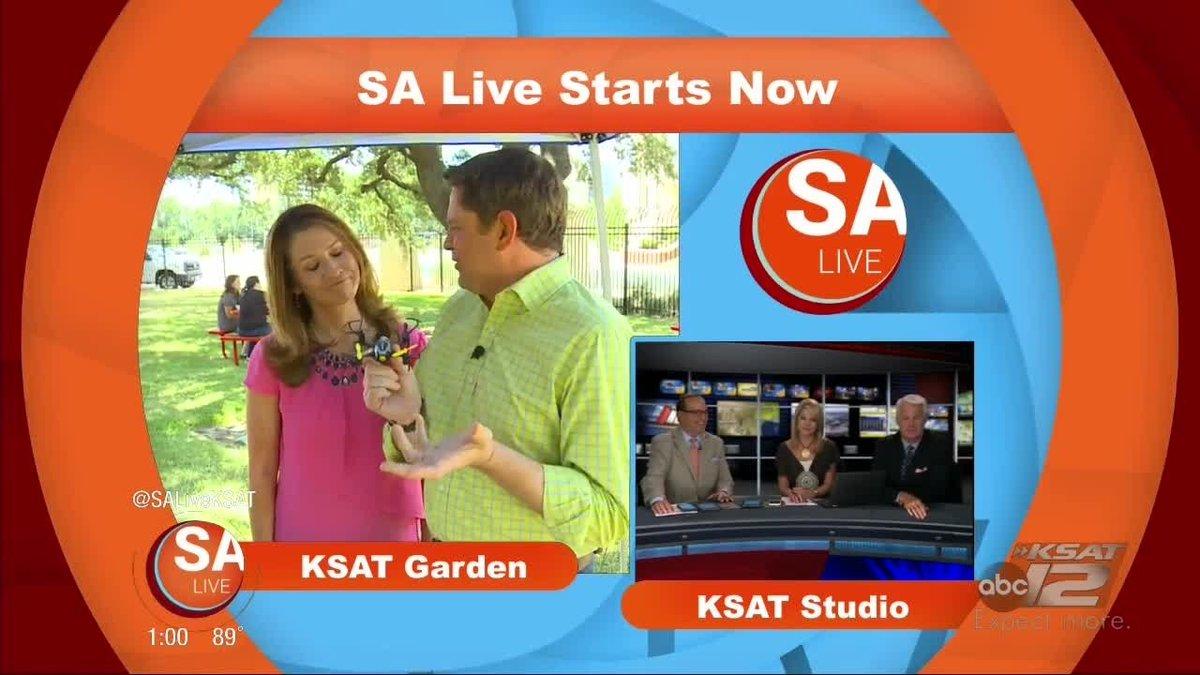 Sa live crew has some fun with drones #ksatnews - scoopnest com