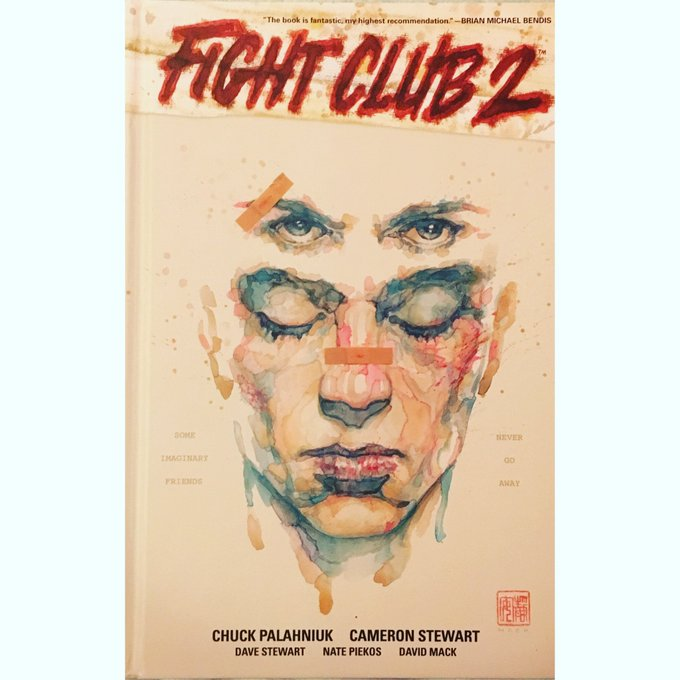 Have you got this yet? A sequel to Fight club and that too a graphic novel. A limited edition by @chuckpalahniuk https://t.co/W6w0mO3zxc