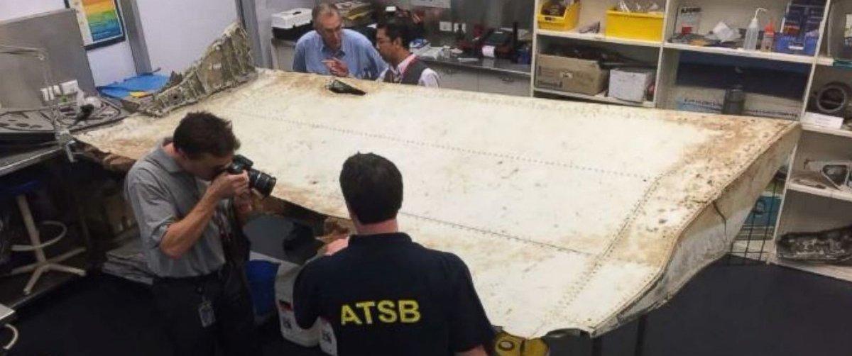 Resultado de imagen para mh370 wing flap