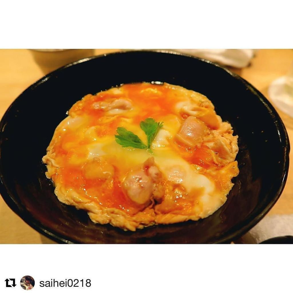 #Repost @saihei0218 with @repostapp ・・・ #テリヤキ掲載店 #目黒 #予約困難店 #親子丼 #感動的な美味しさ http://ift.tt/29Olb2b pic.twitter.com/UBqgSwyKye