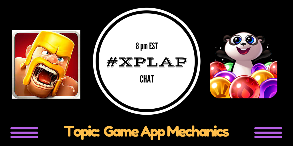 Welcome to #XPLAP: Game App Mechanics!  Please introduce yourself and share your favorite game app! #gamification https://t.co/YUDQG0Ogwd