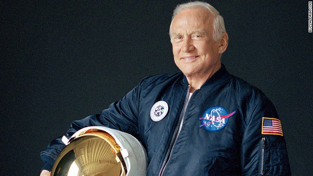 #OTD in 1969 #NSS Governor @therealbuzz first set foot upon the moon. We salute you sir! #space #history #NASA https://t.co/P3qgeJEwvH
