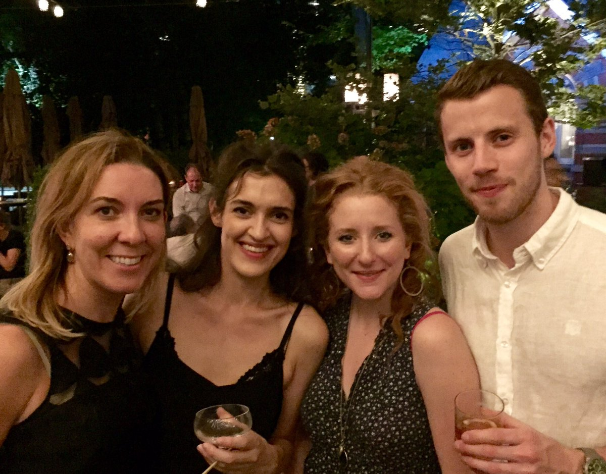 In such a night...did I meet Brit stars Phoebe Pryce, Dorothea MB & Andy Apollo - Opening night of #MerchantofVenice