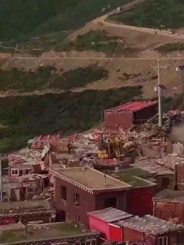 Breaking News !   #Tibet : The destruction of the #LarungGar Buddhist Academy has begun. https://t.co/4oSKCJizi6