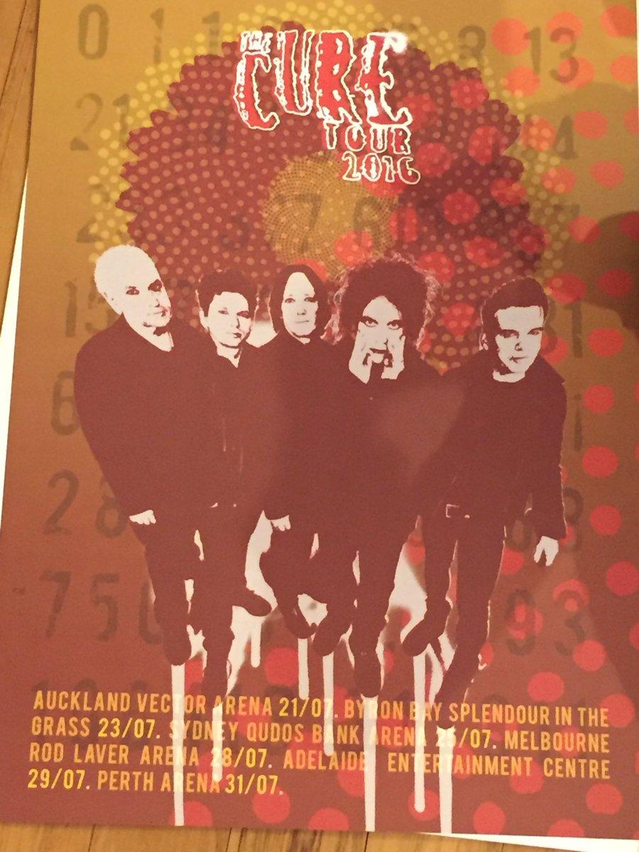 Oceania Tour Poster