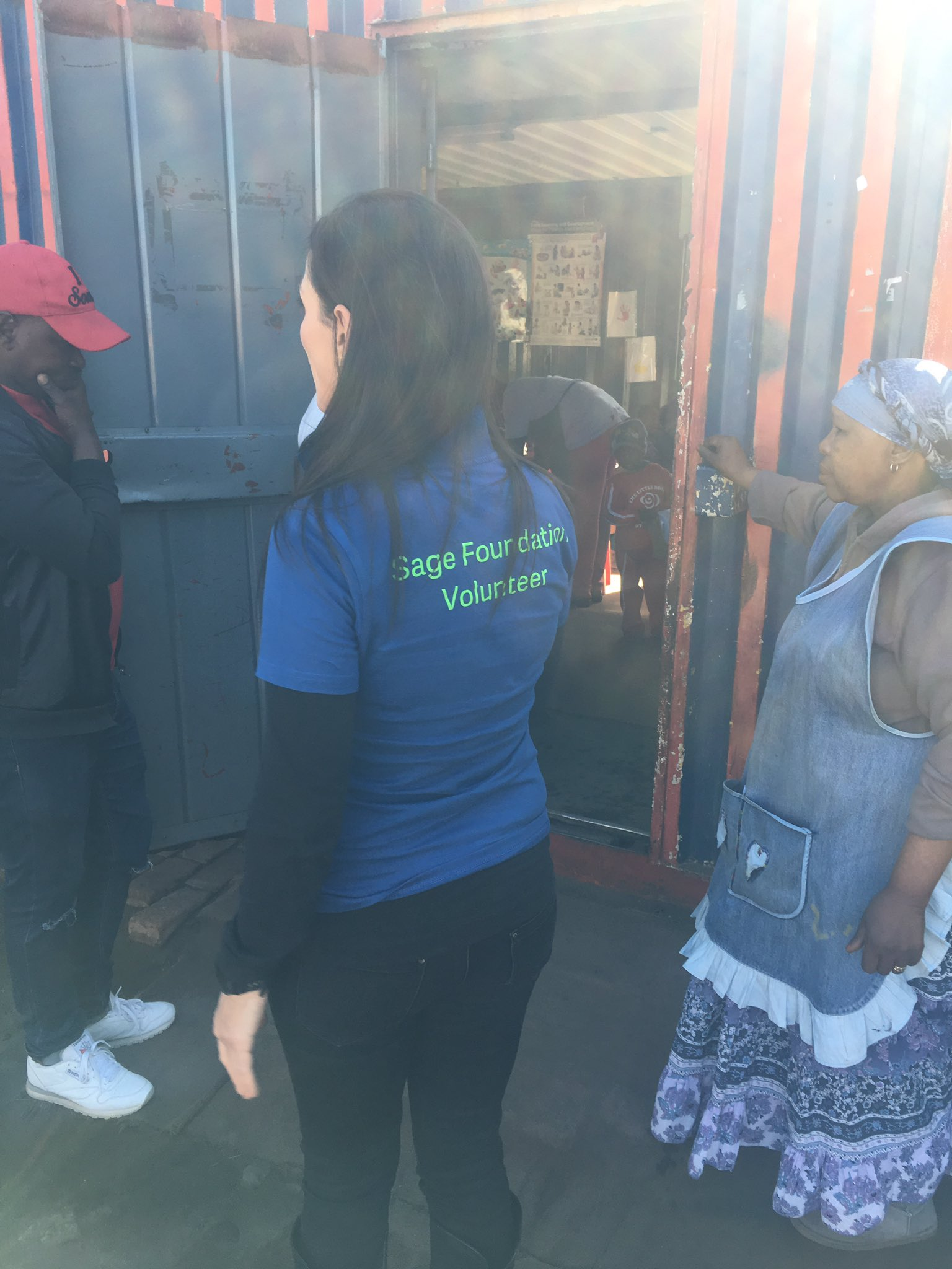 Today we are out at Little Rose Centre in Kliptown. One of our first NPO partnerships. #SageFoundation #MandelaWeek https://t.co/lOUgcxH2u4