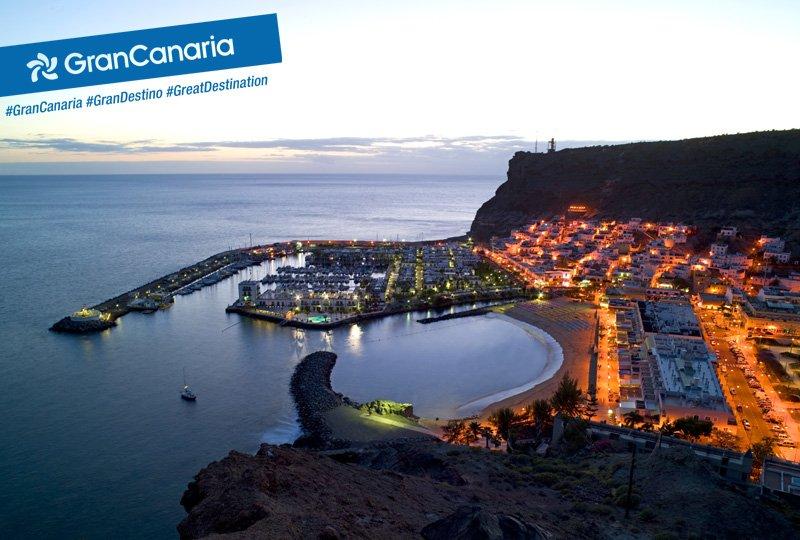 Mogán uno de los lugares del archipiélago canario que puede presumir de mejor clima #GranCanaria #GranDestino https://t.co/vffoSyhZbi