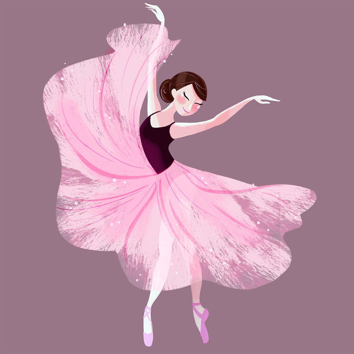картинки рисунки балерин танцовщиц бывают прямыми
