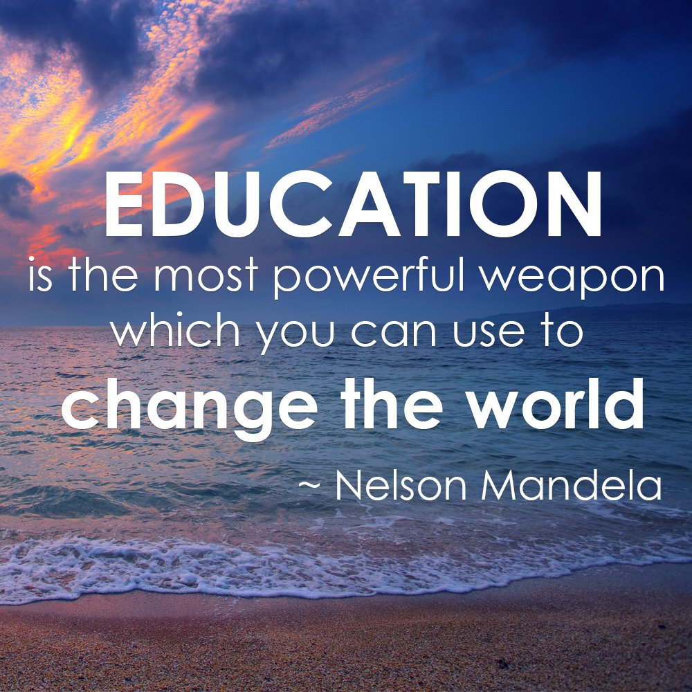 "Meaningful Quotes Qs Asia On Twitter ""it All Begins With Educationa Meaningful"
