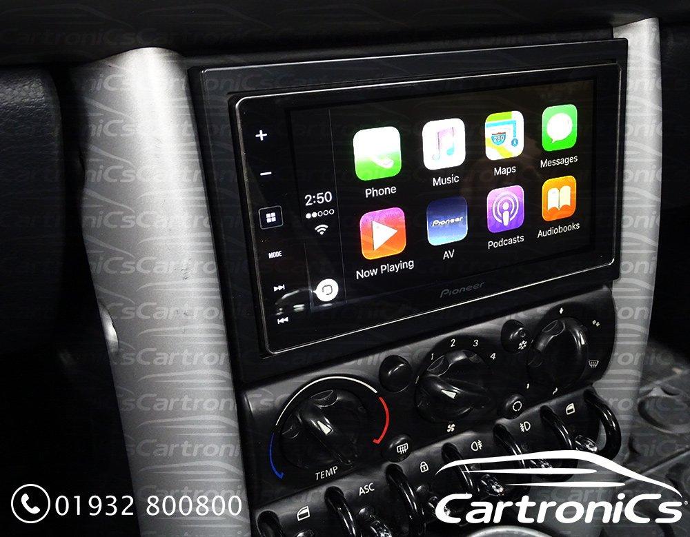 Cartronics On Twitter Le Carplay Upgrade In A Mini Cooper S Alpine Ilx 700 Https T Co Mol4wwn5sn