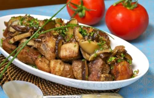 Рецепты корейка свиная на кости