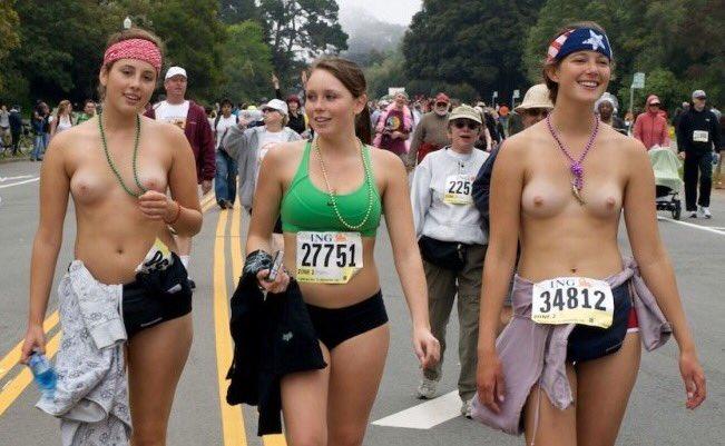 Stars nude sport Seven women