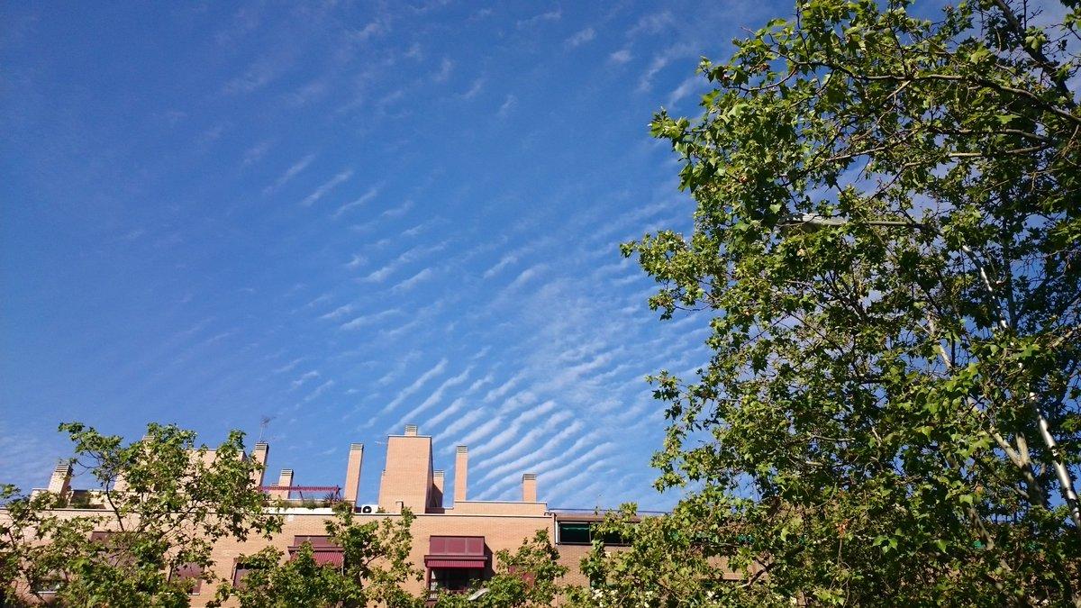 Puede haber ripples de oleaje en el cielo???  #geofreak