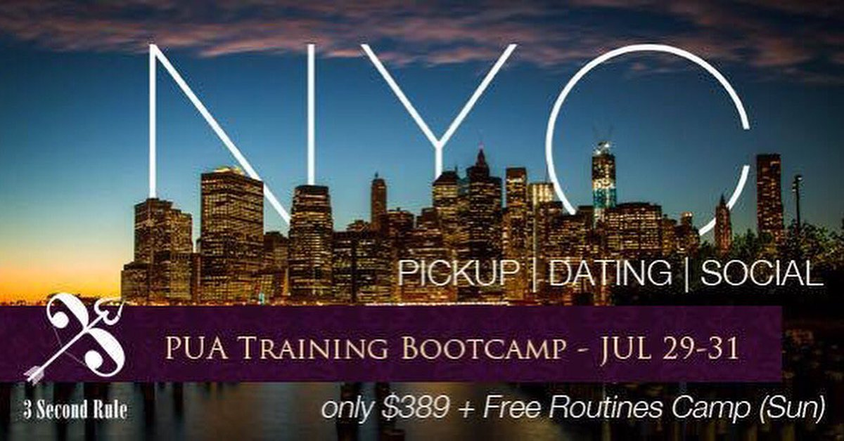dating bootcamp in nyc