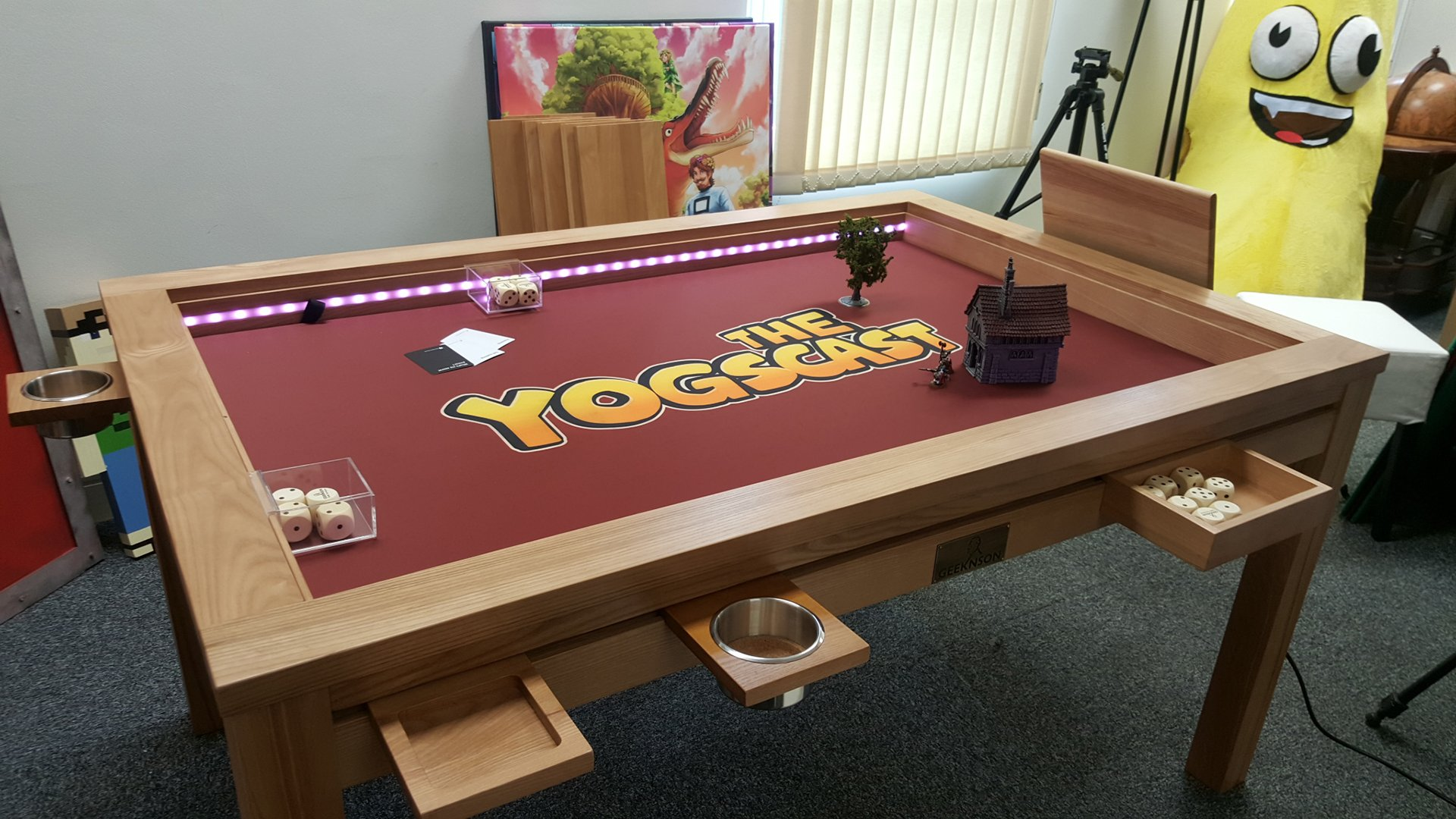 DIY gaming table add ins