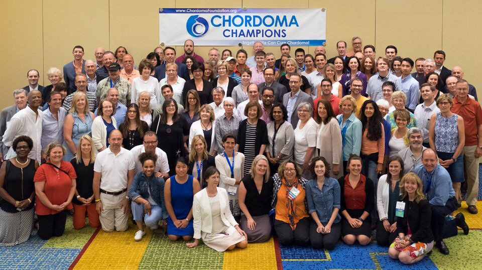 This amazing group of #patients #researchers and #caregivers continue to inspire us #ChordomaCommunity #rarecancer https://t.co/uEeLkUnUHU