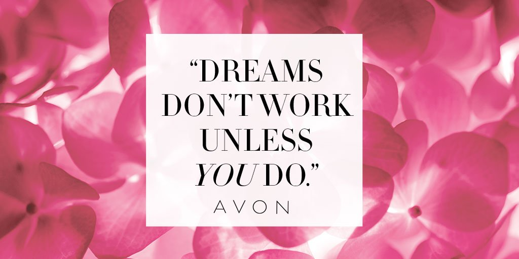 I'm achieving my dreams with @AvonInsider. Join me! #AvonRep